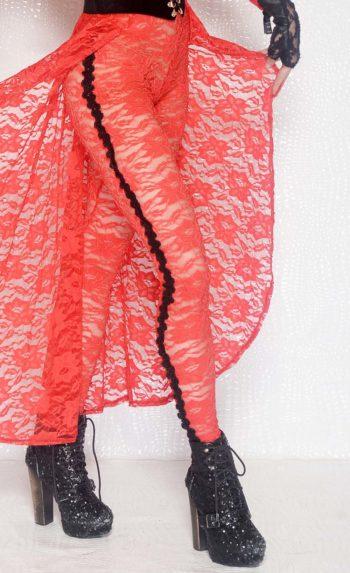 Love in an Elevator lace leggings