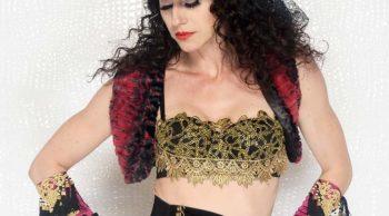 Gypsy soul sequin lace bra