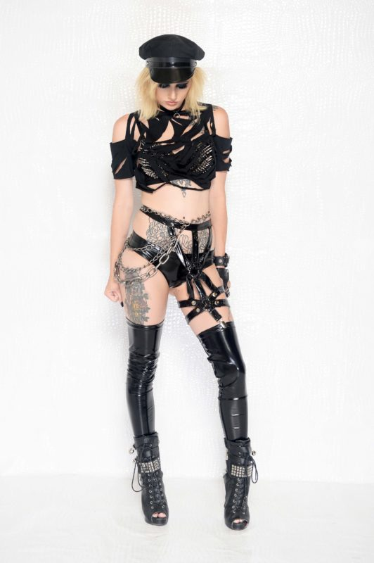 Heavy metal gothic couture