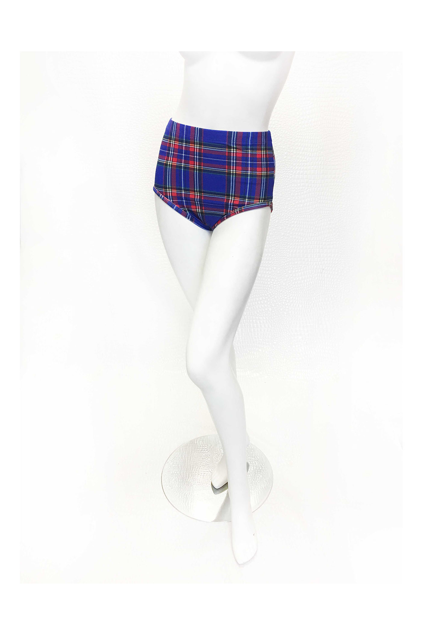 Punk Rock Plaid Bikini Kelly Maglia